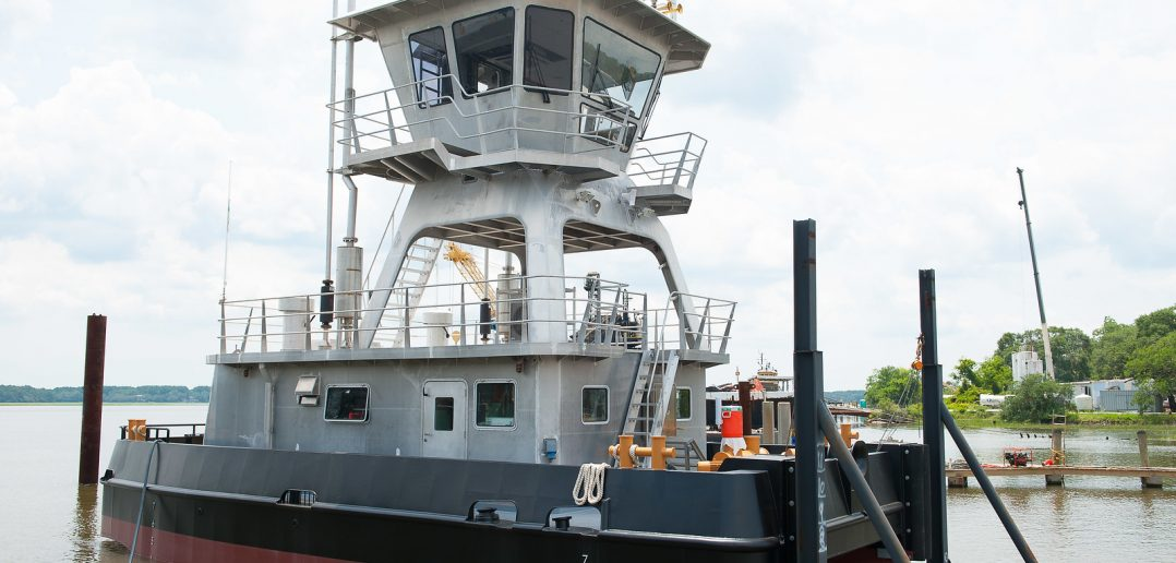Pushboat a first for Metal Trades