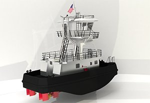 Metal Trades' first-ever tug is a nimble little boat that will deliver