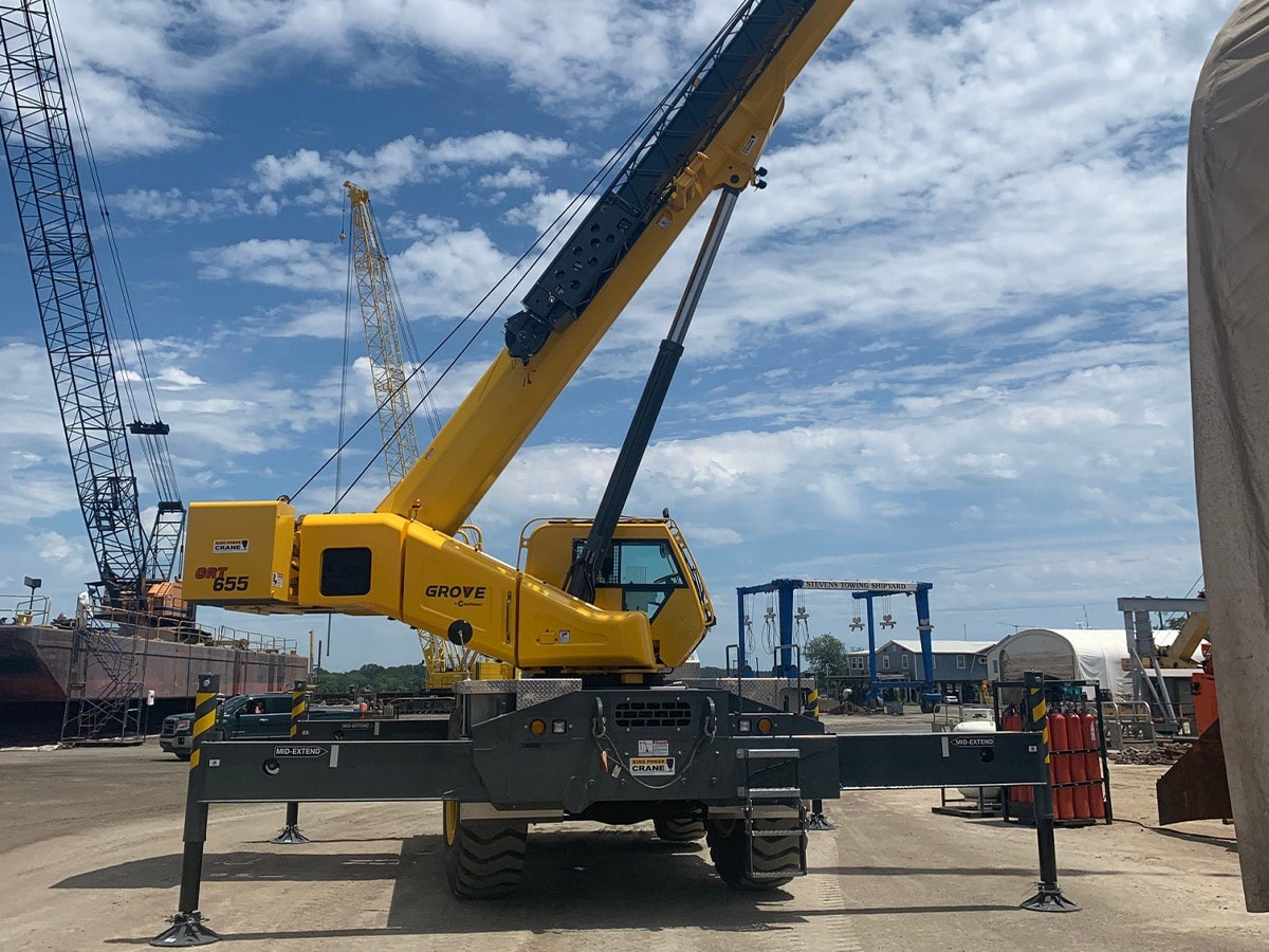 Picture of Grove Crane Delivered