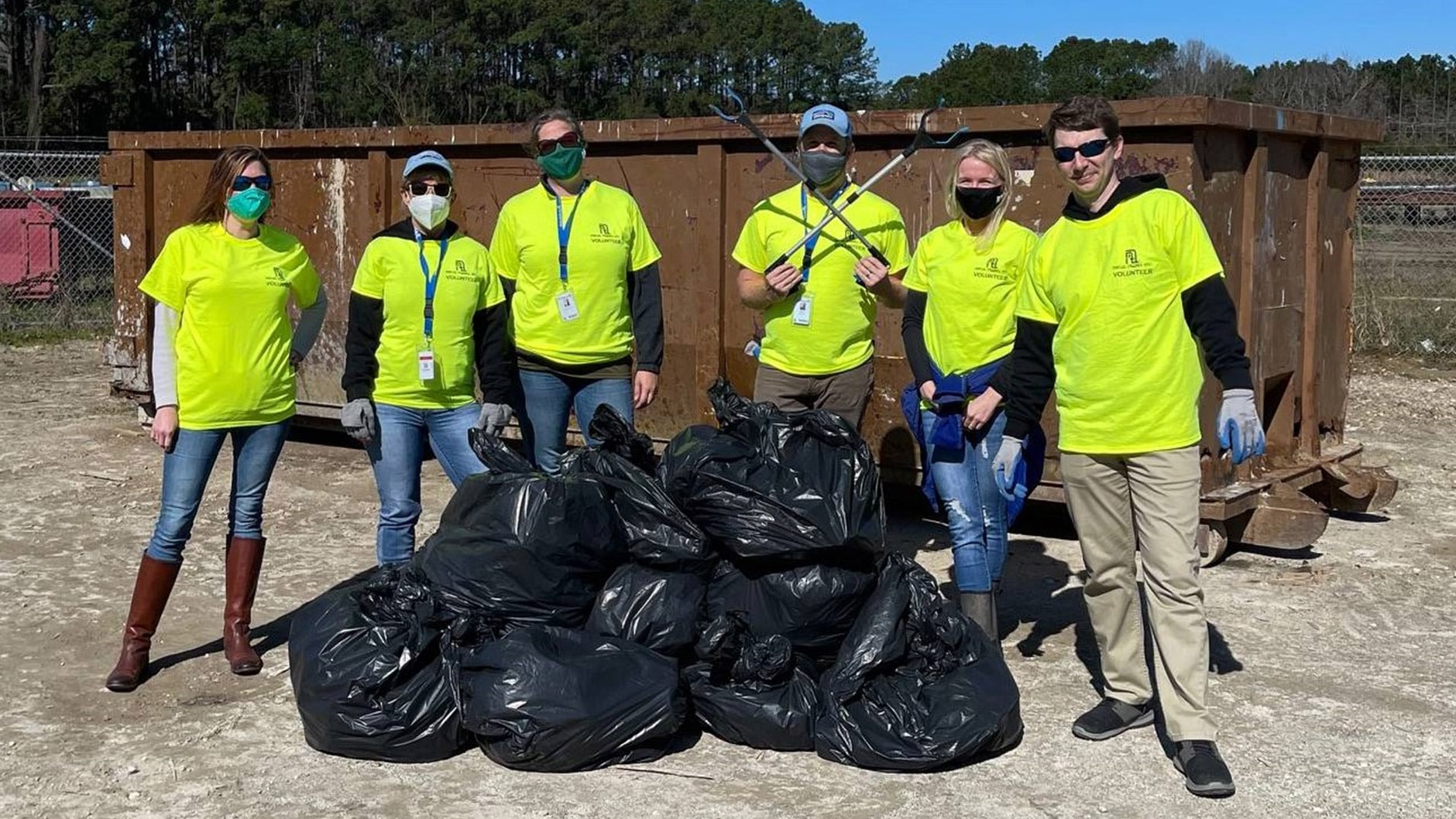 Community Clean-up: MTI Picking Up & Giving Back