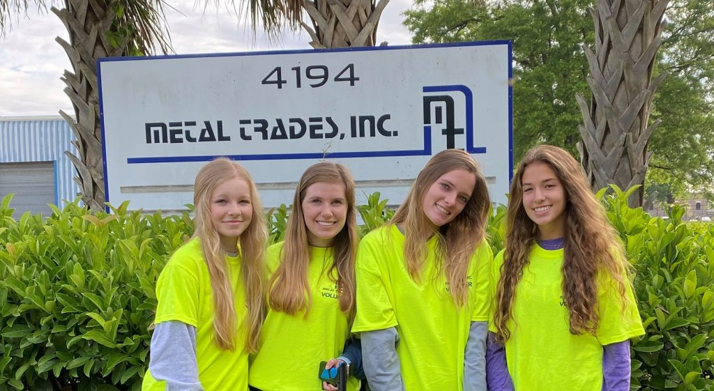 mti meggett team up to clean up